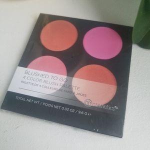 NIB BH Cosmetics Foil Blushed to Go Blush Palette